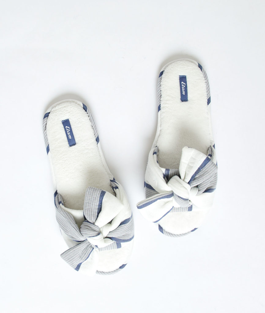 Zapatillas para estar por casa mujer Etam 2020