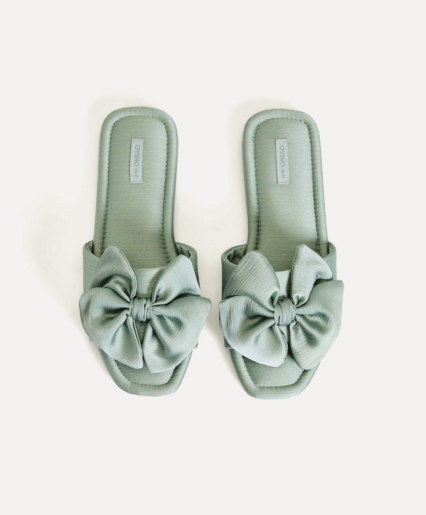 Zapatillas para estar por casa mujer Oysho 2020