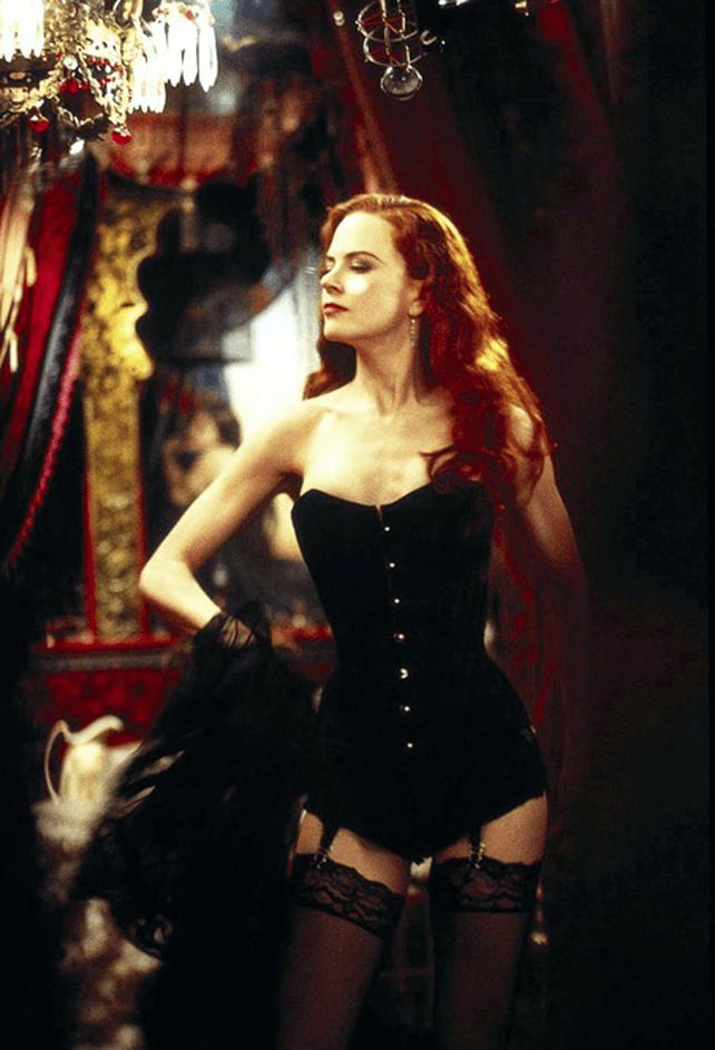 Lencería en el cine: Moulin Rouge