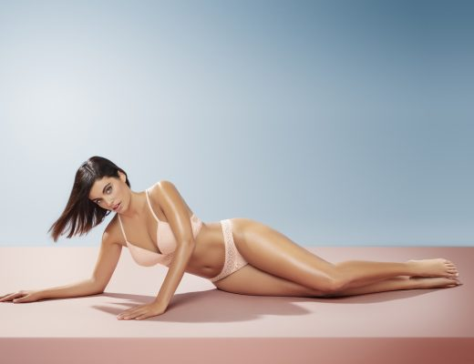 Creaciones Selene, colección Girl, sujetador Kim en rosé